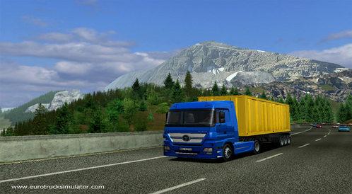 German Truck Simulator - wystartował oficjalny serwis