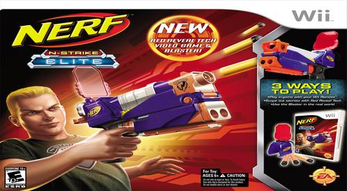 Kody do Nerf: N-Strike Elite (Wii)