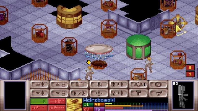 X-COM - filmik końcowy z wersji gry na... PSX!