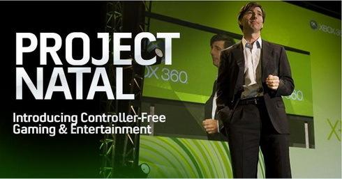 Projekt Natal - Prezentacja E3 2009