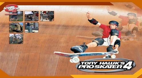 Kody do Tony Hawk's Pro Skater 4 (PC)