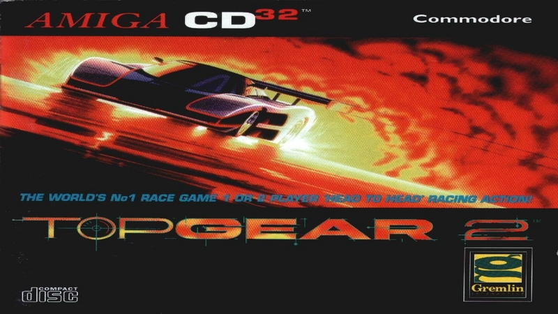 Top Gear 2 - gameplay (Amiga)