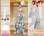 Silver Bride Dress Up