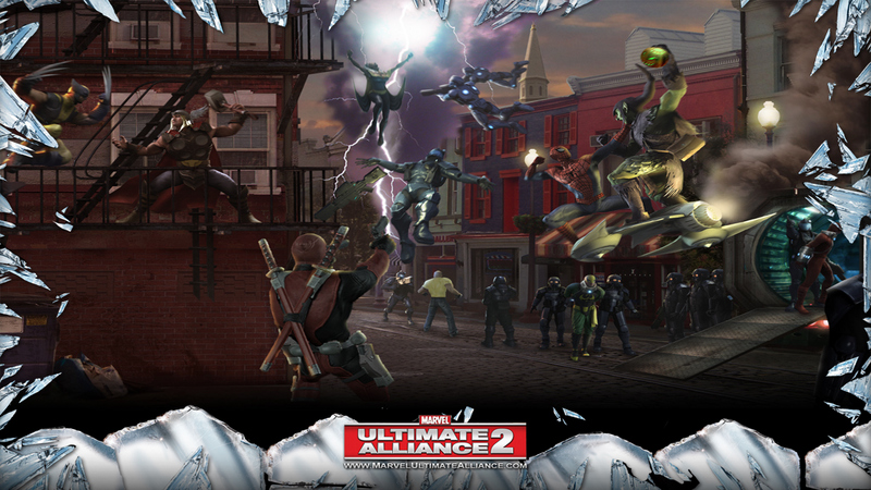 Kody do Marvel: Ultimate Alliance 2 (PS3)