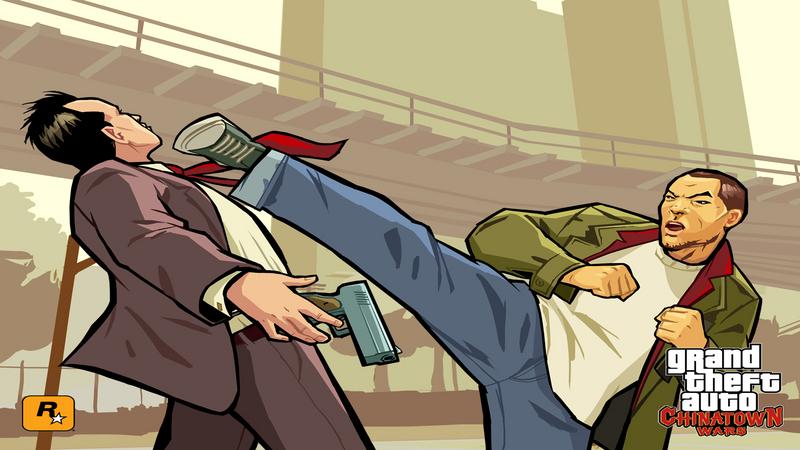 Porady do Grand Theft Auto: Chinatown Wars (NDS)