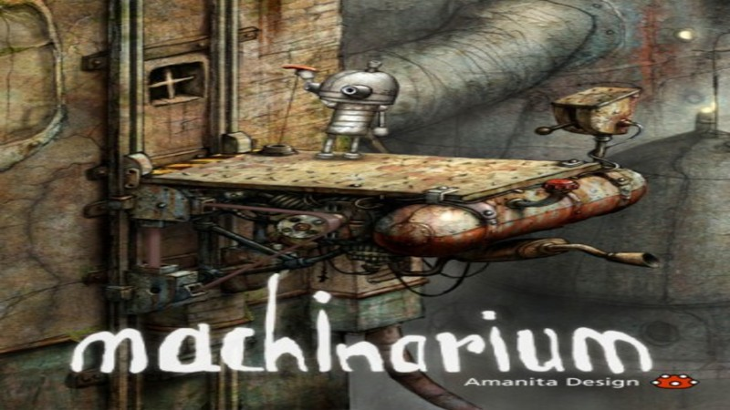Machinarium - Gameplay (Beta Demo 03)