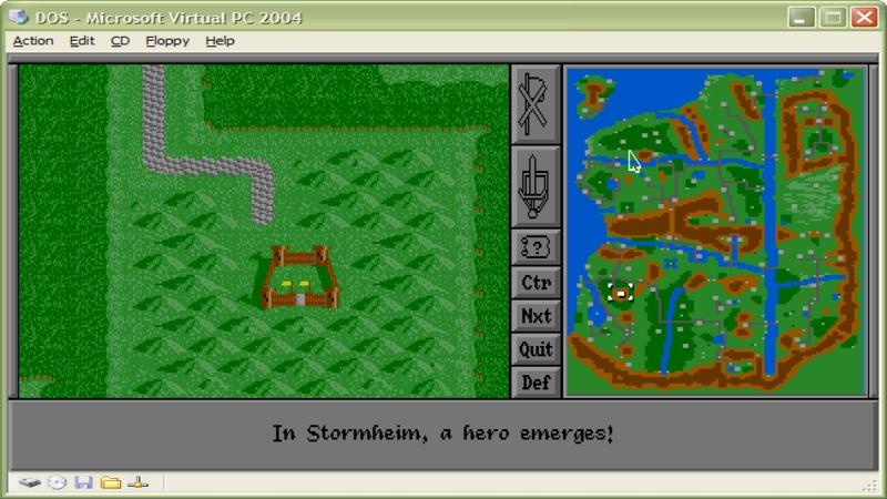 Warlords II - Pełna wersja (DOS)