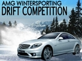Mercedes CL-63 AMG Wintersporting: Drift Competition