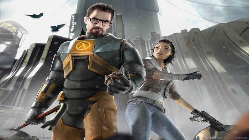 Half-Life 2 - sountrack (Path of Borealis)