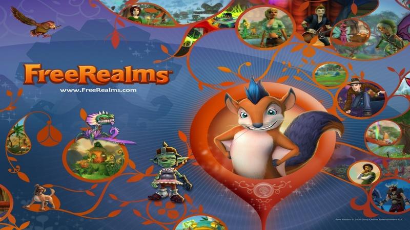 Już 5 milionów ludzi gra w Free Realms