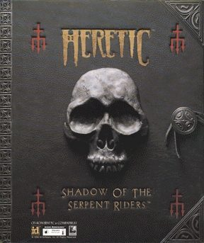 Heretic - gameplay (DOS)