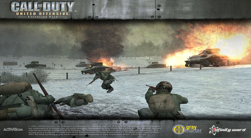 Kody do Call of Duty: United Offensive (PC)
