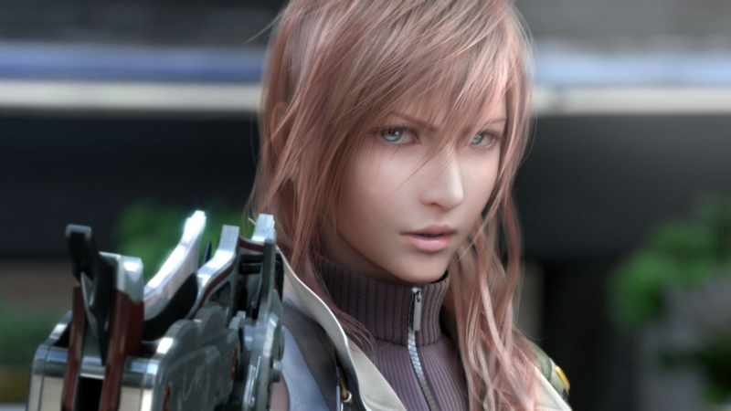 Final Fantasy XIII - gameplay (walka z bossem)