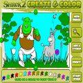 Kolorowanka Shrek