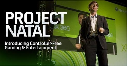 Pełna lista tytułów na Project Natal już niedługo !