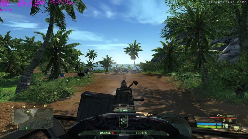 Crysis - zabawa z 3000 wybuchowych beczek
