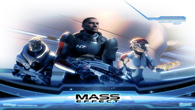Mass Effect (2008) - Pokaz rozgrywki
