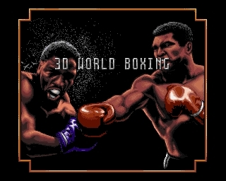 3D World Boxing - gameplay (amiga)