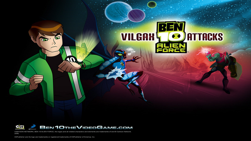 Kody do Ben 10: Alien Force - Vilgax Attacks (Wii)