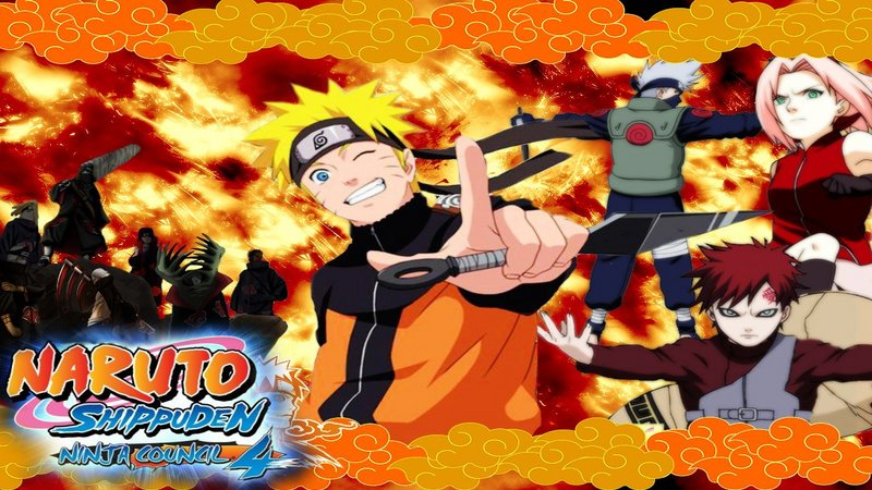 Kody do Naruto Shippuden: Ninja Council 4 (NDS)