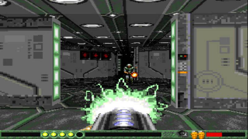 Gloom - gameplay z gry (wersja aga)