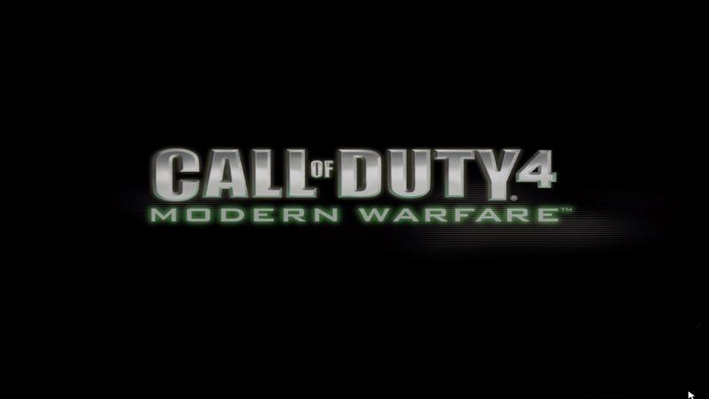 Call of Duty 4: Modern Warfare - muzyka z gry (motyw tytułowy)