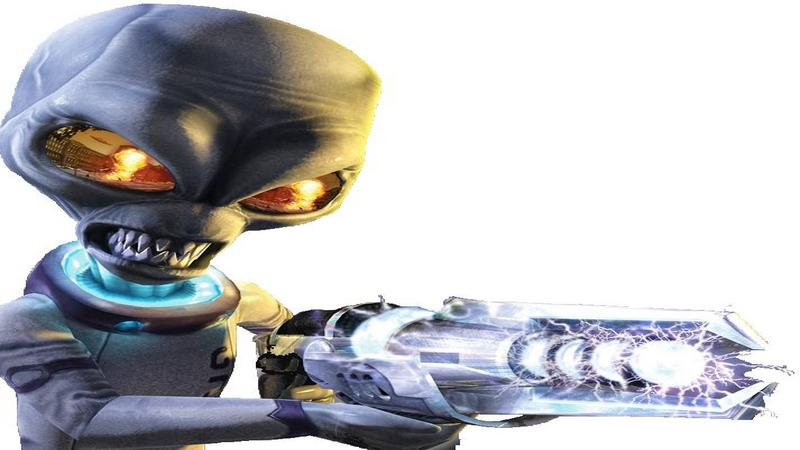 Destroy All Humans! - intro z gry