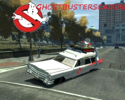 Grand Theft Auto IV - Gameplay (Ecto-1 Ghostbusters Cadillac)
