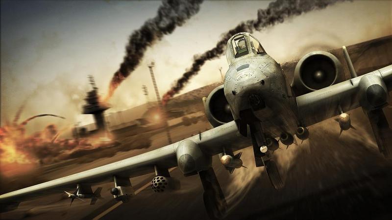 Tom Clancy's HAWX 2 - zwiastun