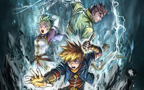 Golden Sun: Dark Dawn - reklama