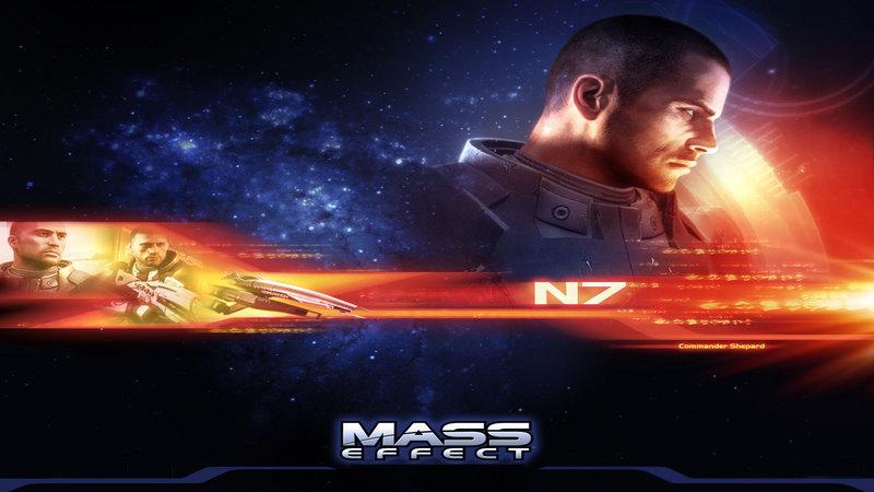 Promocja Mass Effect.