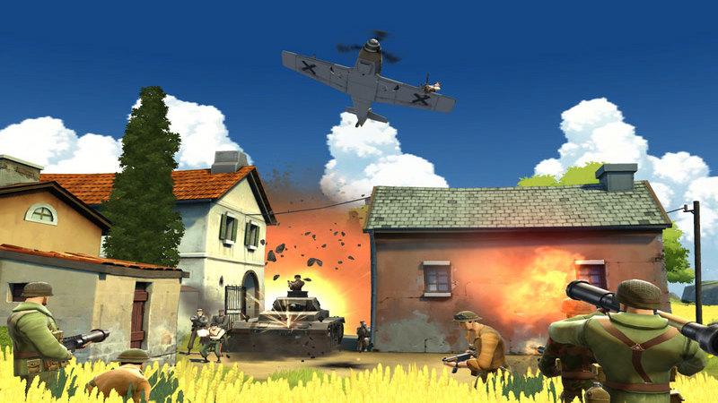Battlefield Heroes  - gameplay