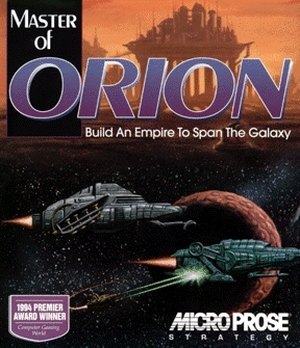Master of Orion - gameplay (DOS)
