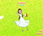 Dziewczyna na trawie