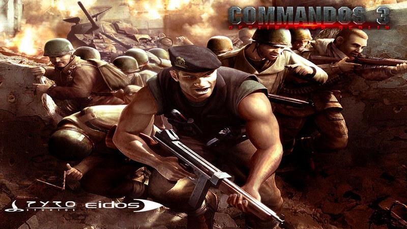Commandos 3 - migawki z gry
