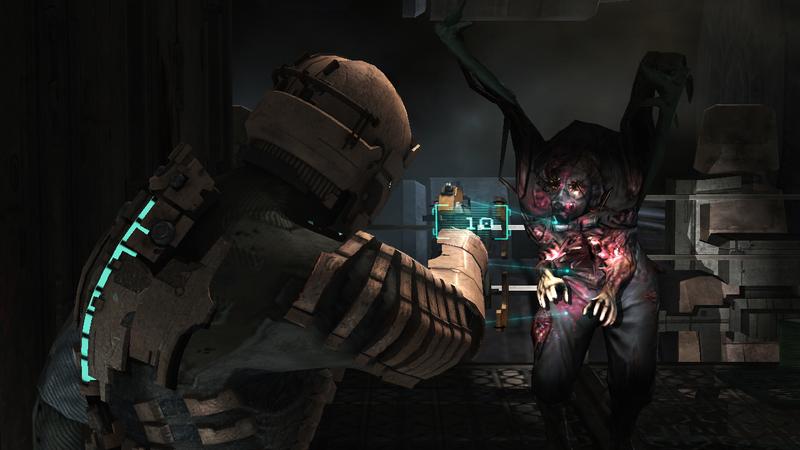 Dead Space - walka
