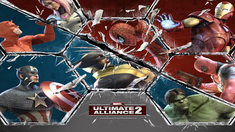 Kody do Marvel: Ultimate Alliance 2 (Xbox 360)