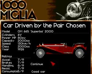 1000 Miglia – pełna wersja (DOS)