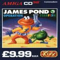 James Pond 3: Operation Starfish (Amiga) kody