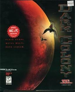 Dark Colony - gameplay (pierwsza misja)