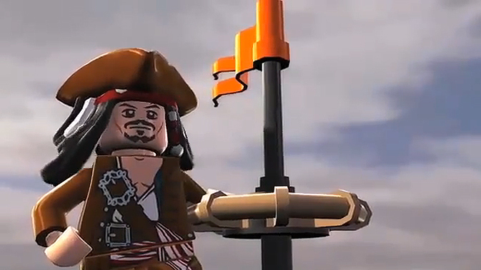 LEGO Pirates of the Carribean - zwiastun