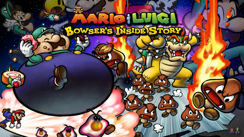Kody do Mario & Luigi: Bowser's Inside Story (NDS)