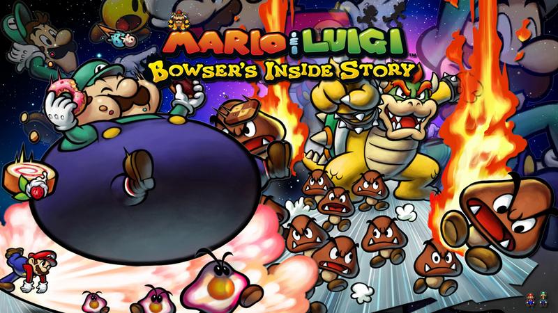 Kody do Mario & Luigi: Bowser's Inside Story (NDS)