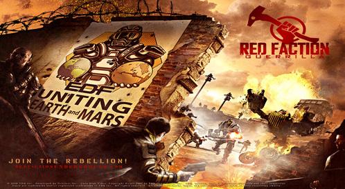 Kody do Red Faction: Guerrilla (Xbox 360)