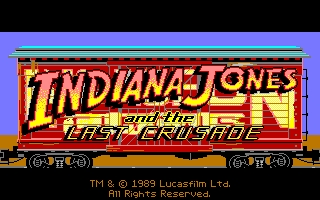 Indiana Jones and The Last Crusade: The Graphic Adventure - Intro