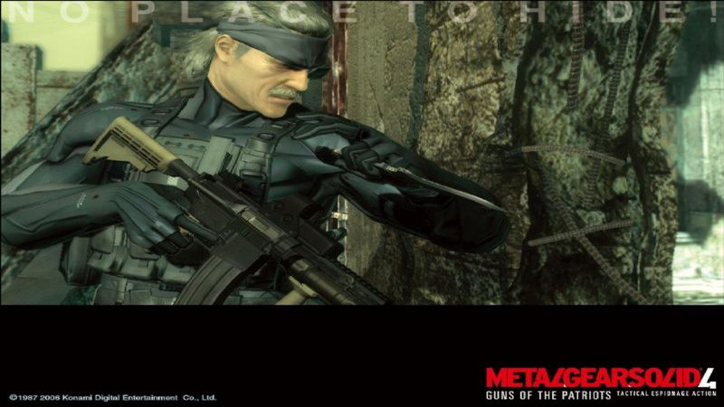 Kody do Metal Gear Solid 4: Guns of the Patriots (PS3)