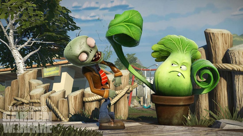 Plants vs Zombies – gameplay