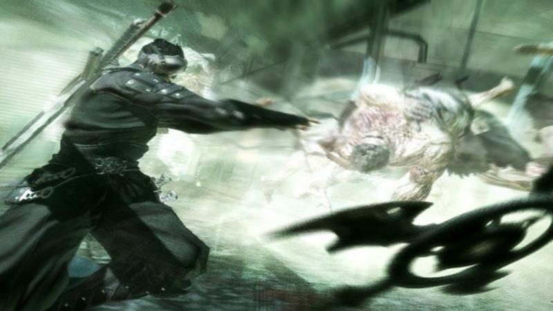 Ninja Blade - gameplay (intro i początek gry)