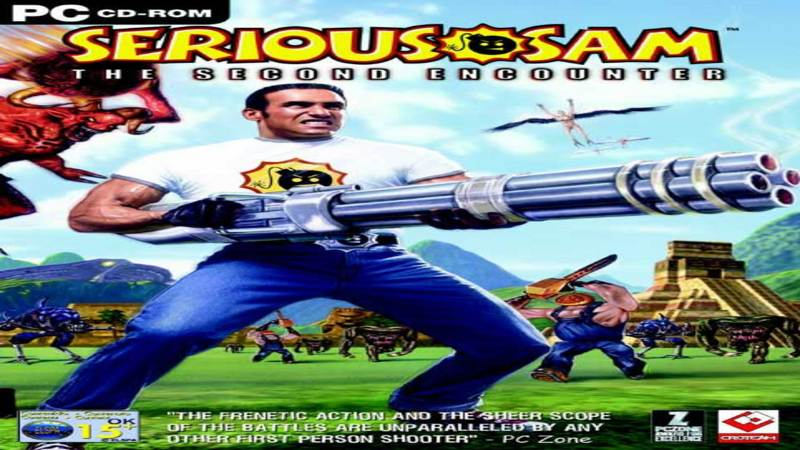 Serious Sam the Second Encounter - sountrack (Fight 1)