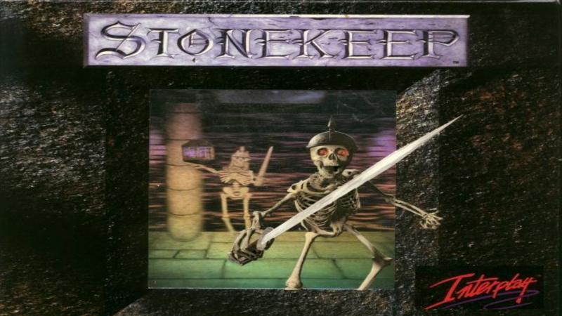 Stonekeep - intro z gry i początek gry (DOS)